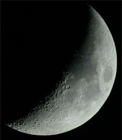 Photo croissant de lune