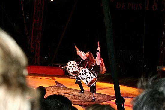 photographie d'acrobates musiciens