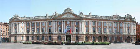 Façade du Capitolium, panorama Capitole de Toulouse