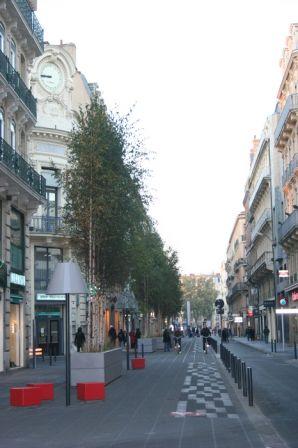 Rue d'Alsace-Lorraine après les gros travaux 2