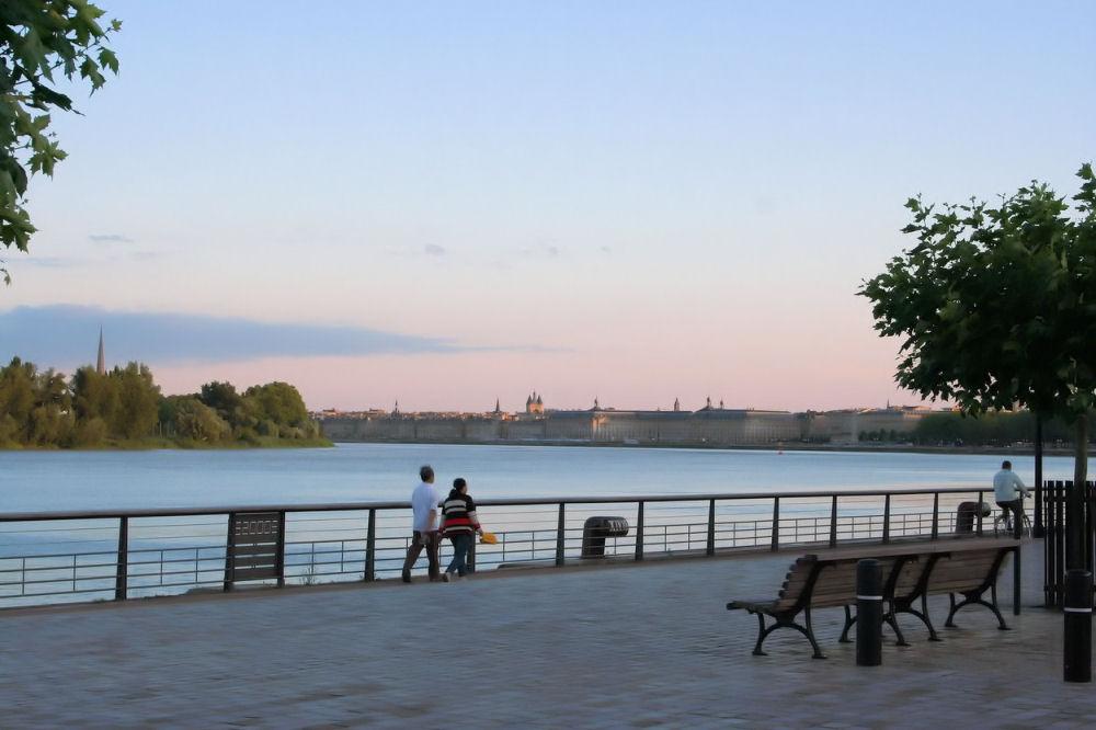 photo berges Garonne Bordeaux